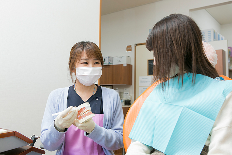 歯科衛生士の心がけ